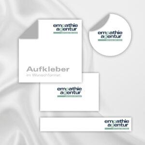 Gestaltung Briefpapier Empathie Agentur